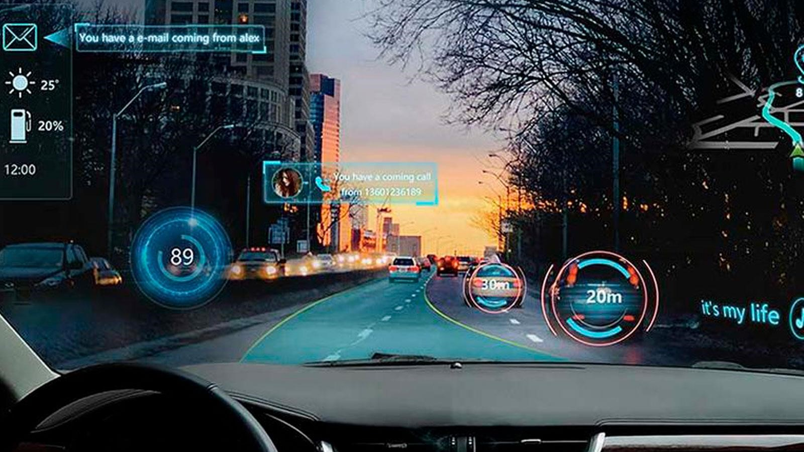 Autos con realidad aumentada